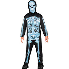 X-ray Skeleton Big Boys Costume