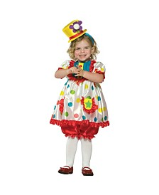 Clown Girl Toddler Girls Costume