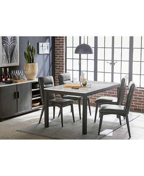 Furniture Callisto Marble Top Buffet Created For Macys