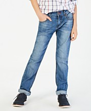 bec832af5e1 Tommy Hilfiger Regular-Fit Stone Blue Jeans, Big Boys
