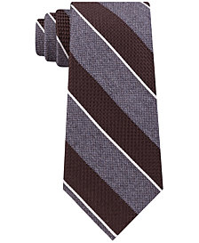 Michael Kors Men's Mixed Media Stripe Tie