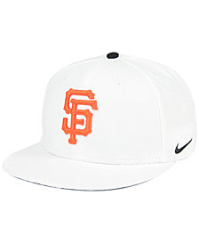 Nike San Francisco Giants White Ripstop Snapback Cap