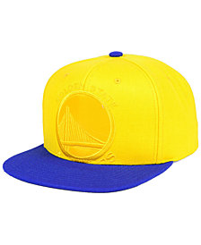 Mitchell & Ness Golden State Warriors Cropped Satin Snapback Cap