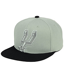 Mitchell & Ness San Antonio Spurs Cropped Satin Snapback Cap