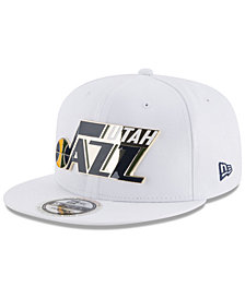 New Era Utah Jazz Enamel Badge 9FIFTY Snapback Cap