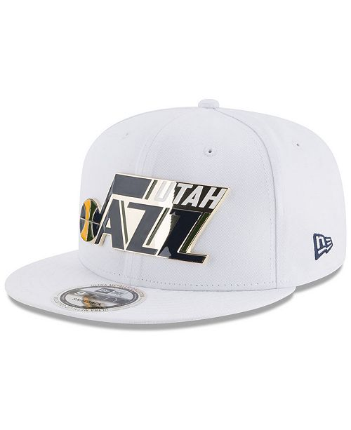 New Era Utah Jazz Enamel Badge 9FIFTY Snapback Cap - Sports Fan Shop ... f87843274182