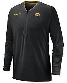 Men's Iowa Hawkeyes Coaches Quarter-Zip Pullover 2018
