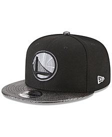 New Era Golden State Warriors Snakeskin Sleek 9FIFTY Snapback Cap