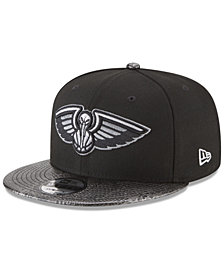 New Era New Orleans Pelicans Snakeskin Sleek 9FIFTY Snapback Cap