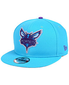New Era Charlotte Hornets Team Cleared 9FIFTY Snapback Cap