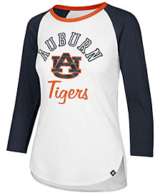 '47 Brand Women's Auburn Tigers Script Splitter Raglan T-Shirt