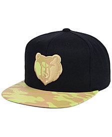 Mitchell & Ness Memphis Grizzlies Natural Camo Snapback Cap