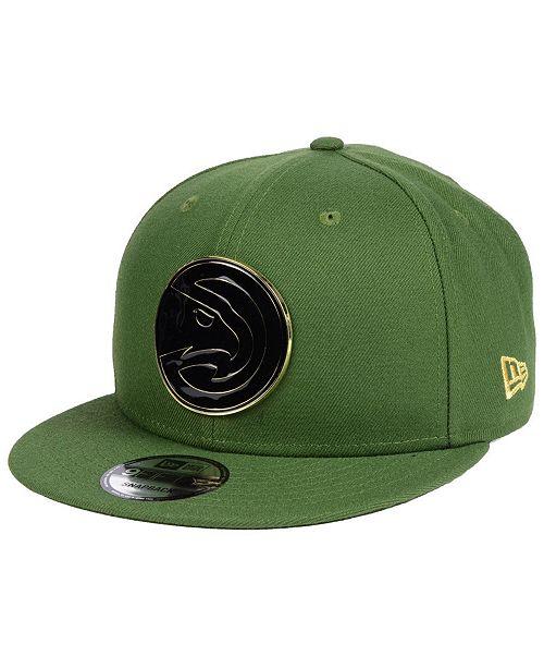 best authentic e41d5 a9e49 New Era Atlanta Hawks Enamel Badge 9FIFTY Snapback Cap ...