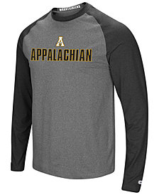 Colosseum Men's Appalachian State Mountaineers Social Skills Long Sleeve Raglan Top