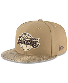 New Era Los Angeles Lakers Snakeskin Sleek 59FIFTY FITTED Cap