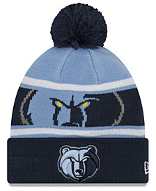 New Era Boys' Memphis Grizzlies Jr. Callout Pom Hat