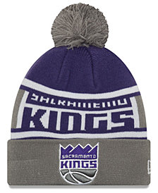 New Era Boys' Sacramento Kings Jr. Callout Pom Hat