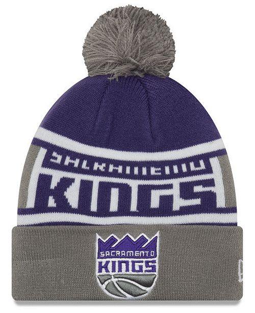 c81afffc647 New Era Boys  Sacramento Kings Jr. Callout Pom Hat - Sports Fan Shop ...