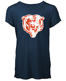 5th & Ocean Chicago Bears Logo T-Shirt, Girls (4-16)