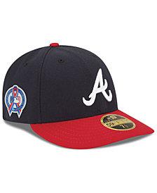 New Era Atlanta Braves 9-11 Memorial Low Profile 59FIFTY FITTED Cap
