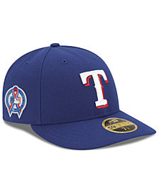 New Era Texas Rangers 9-11 Memorial Low Profile 59FIFTY FITTED Cap