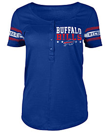5th & Ocean Women's Buffalo Bills Button Down T-Shirt