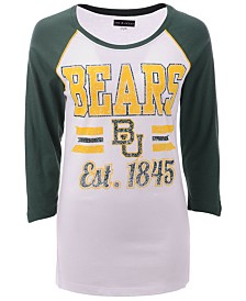 5th & Ocean Women's Baylor Bears Team Stripe Raglan T-Shirt