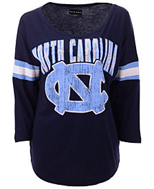 5th & Ocean Women's North Carolina Tar Heels Stripe Sleeve Tunic