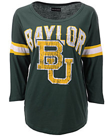 5th & Ocean Women's Baylor Bears Stripe Sleeve Tunic