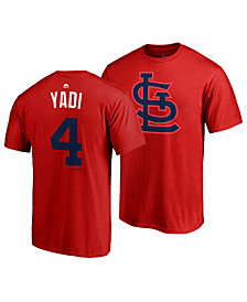 Majestic Men's Yadier Molina St. Louis Cardinals Player's Weekend Name and Number T-Shirt