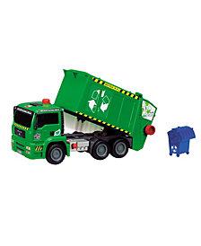 Dickie Toys - 12 Inch Air Pump Garbage Truck