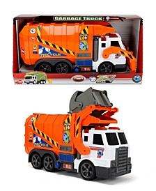- Action Series 16 Inch Garbage Truck