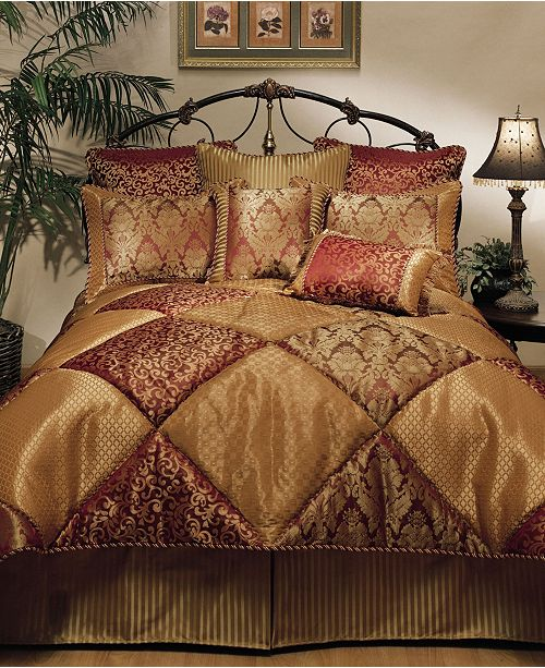 Austin Horn Classics Sherry Kline Chateau Royale 4-Piece Comforter Set, King