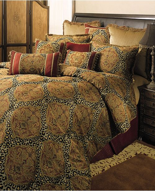 Austin Horn Classics Sherry Kline Tangiers Royale 3-Piece Comforter Set, California King