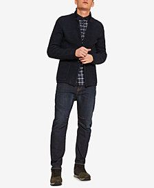 A|X Armani Exchange Men's Textured Knit Sweater