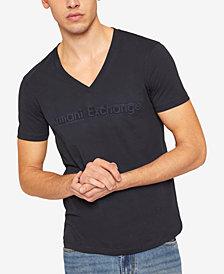 A X Armani Exchange Men's Tonal Embossed Logo T-Shirt