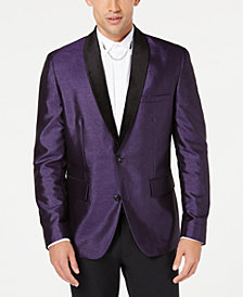 I.N.C. Men's Broadway Slim-Fit Shawl Lapel Blazer, Created for Macy's