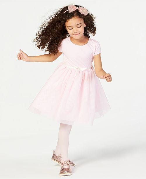 de9924200b23 Blueberi Boulevard Little Girls 2-Pc. Tweed Coat & Dress Set ...