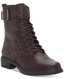 Vince Camuto Tanowie Lace-Up Booties