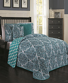 Teagan 5 Pc Queen Quilt Set