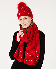 Charter Club Embellished Christmas Collection, Created for Macy's