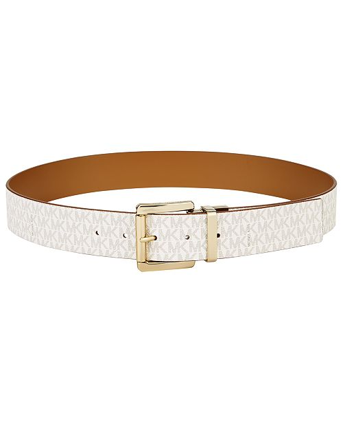 02b3917f32b6 Michael Kors Reversible Signature Leather Belt   Reviews - Handbags ...