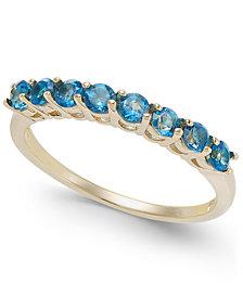 London Blue Topaz Ring (3/4 ct. t.w.) in 14k Gold