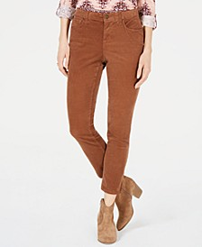 Corduroy Tummy-Control Pants, Created for Macy's