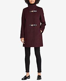 Lauren Ralph Lauren Buckle-Front Walker Coat