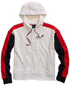 Tommy Hilfiger Women's Jiselle Color Block Sweatshirt, from The Adaptive Collection