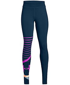 Under Armour Big Girls Finale Knit Leggings