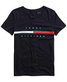 Tommy Hilfiger Women's Logo Top, from The Adaptive Collection