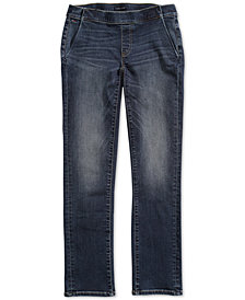 Tommy Hilfiger Adaptive Women's Straight-Fit Jeans with Magnetic Zipper