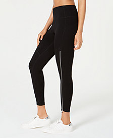 Calvin Klein Performance High-Rise Zipper Leggings